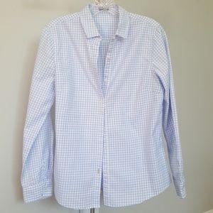 J. McLaughlin Gingham Shirt